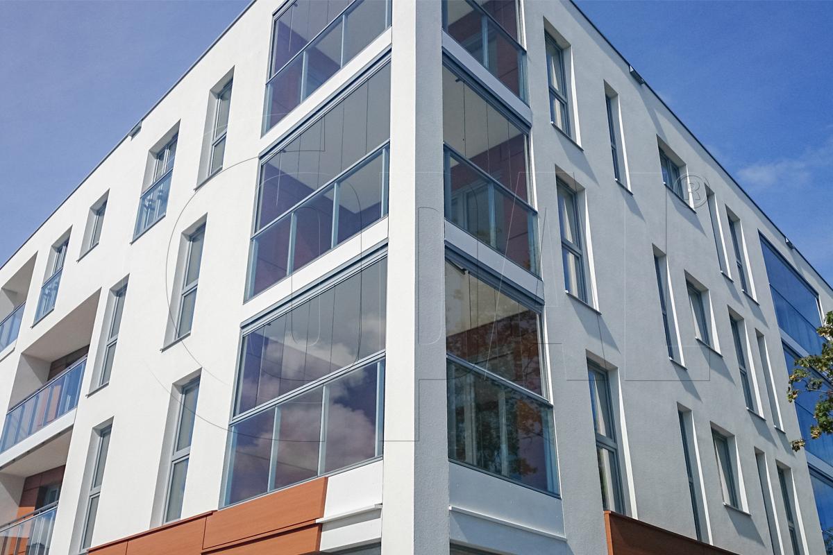 balkonverglasungen copal. Black Bedroom Furniture Sets. Home Design Ideas